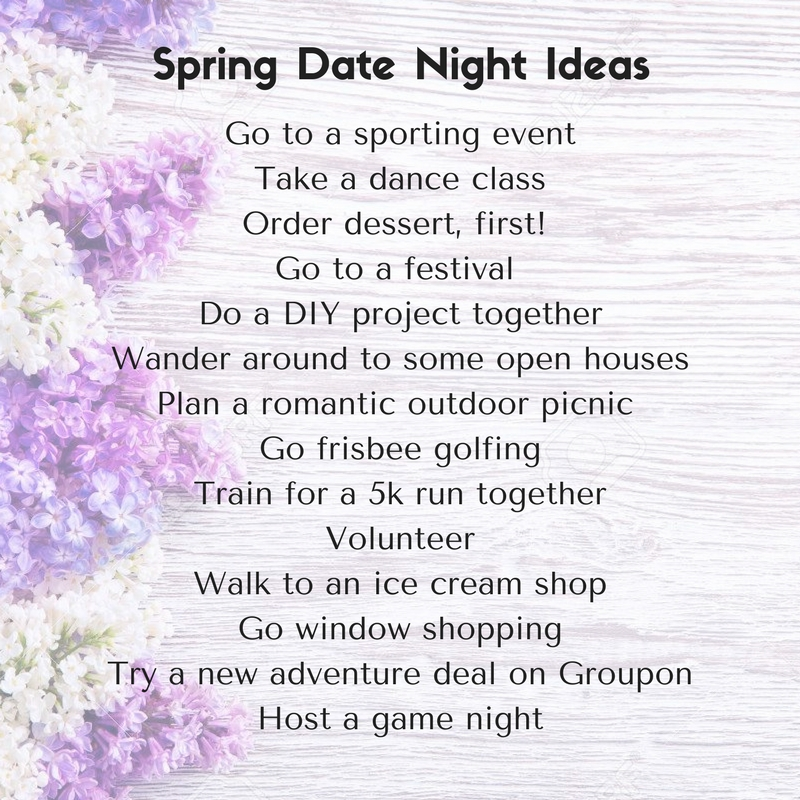 Spring Date Night Ideas